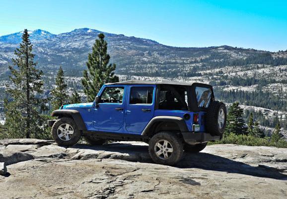 美国试驾2012款jeep牧马人