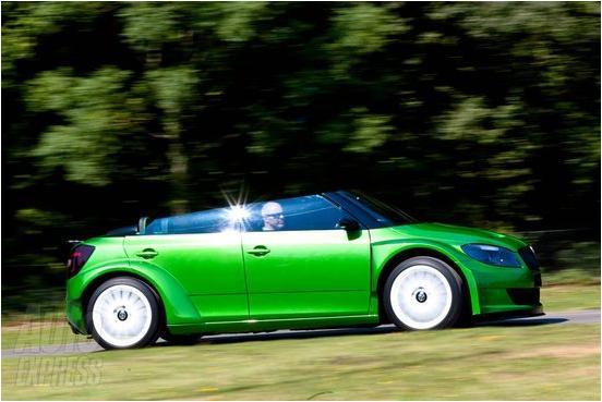 设计前卫 斯柯达全新vrs 2000概念车发布