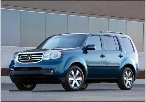 东风本田将引入全新SUV车型 或为Pilot高清图片
