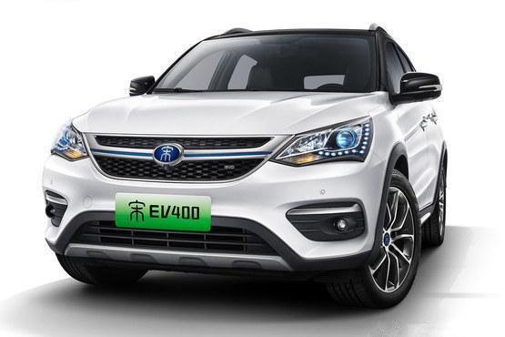 比亚迪宋EV400官图发布 续航达360公里