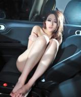 车模车内拍裸照