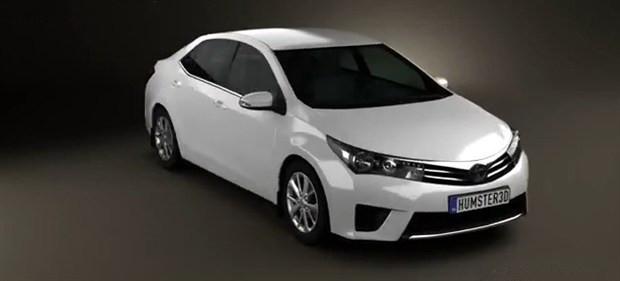 疑似丰田全新卡罗拉造型曝光 即将发布