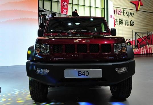 售价20万起 北京吉普BJ40将于12月28日上市