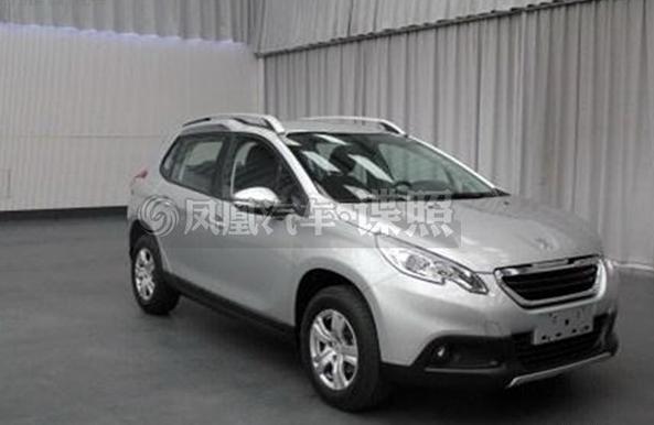 曝东风标致2008申报图 2014年4月北京车展上市